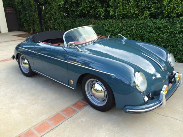 Seller Of Classic Cars 1957 Porsche 356 Aquamarine