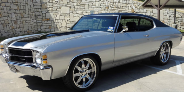 Seller Of Classic Cars 1971 Chevrolet Chevelle Silver