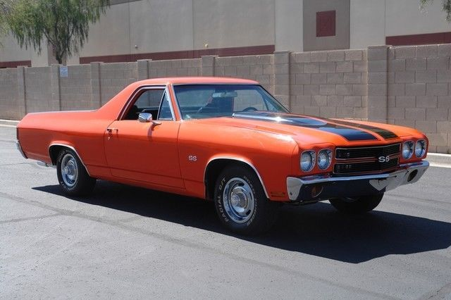 Seller Of Classic Cars 1970 Chevrolet El Camino Orange Black