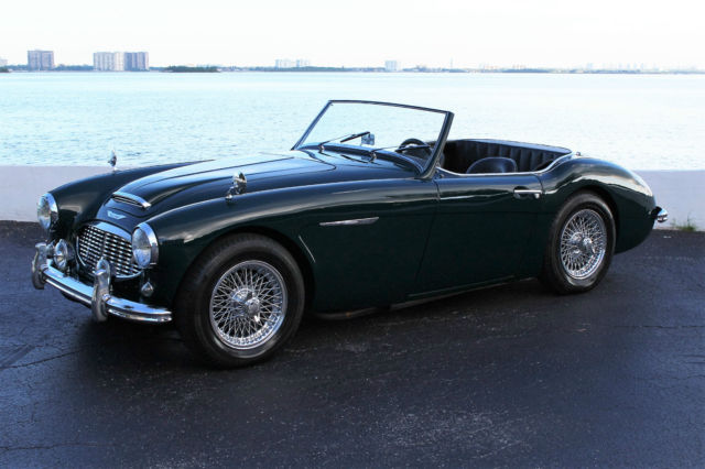 1957 Austin Healey 100-6 BN4 (British Racing Green/Black Leather with Green Piping)