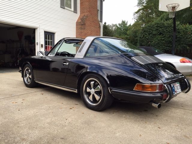 seller of classic cars 1971 porsche 911 black black. Black Bedroom Furniture Sets. Home Design Ideas