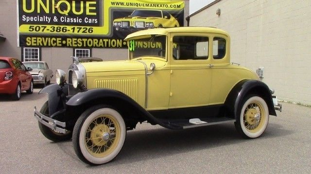 1931 Ford Model A (Yellow/Other)