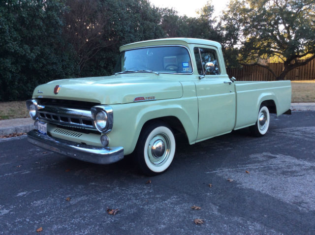 Seller of Classic Cars - 1957 Ford F-100 (Willow Green ...