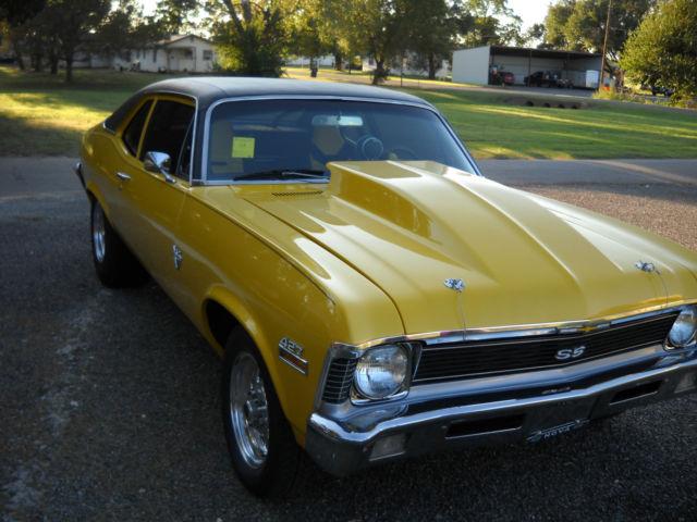 Seller Of Classic Cars 1971 Chevrolet Nova Honda Gold