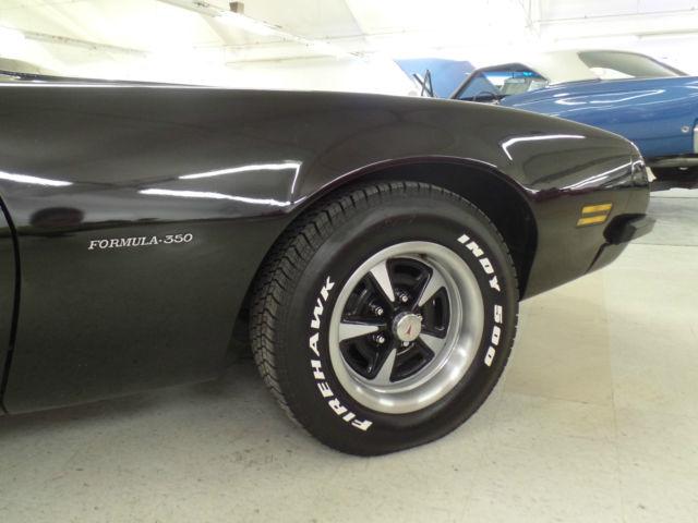 Seller Of Classic Cars 1975 Pontiac Firebird Black Black