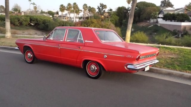 Seller of Classic Cars - 1963 Dodge Dart (Red/Red)