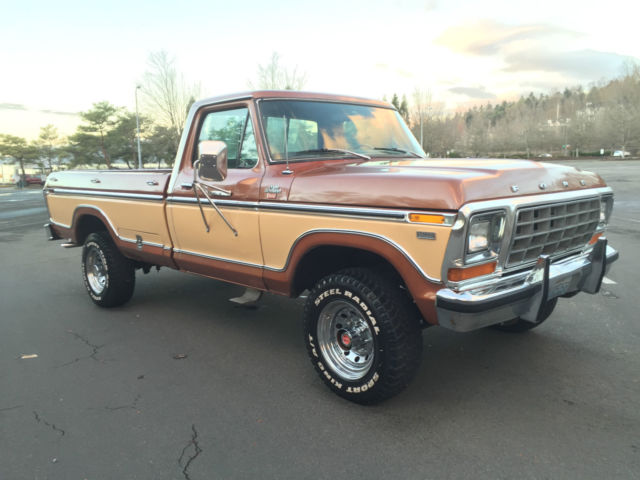 seller of classic cars 1979 ford f 250 brown brown. Black Bedroom Furniture Sets. Home Design Ideas