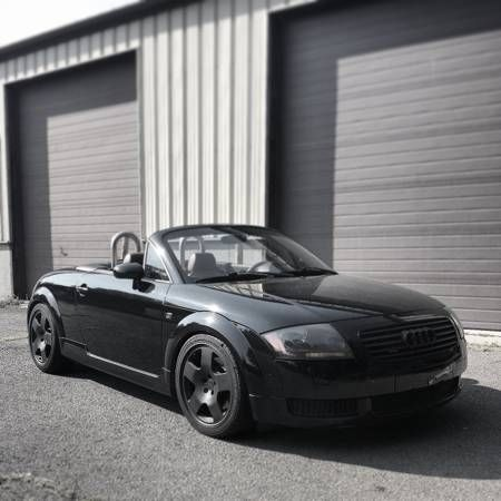 2001 Audi TT (Black/Brown)