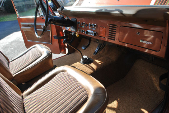 Seller Of Classic Cars 1974 Ford Bronco Hot Ginger