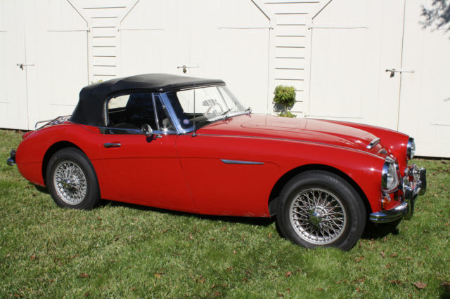 1967 Austin Healey 3000 (Red/Black)