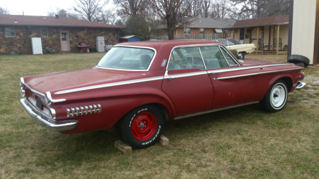 Seller Of Classic Cars 1962 Dodge Dart Red Gray