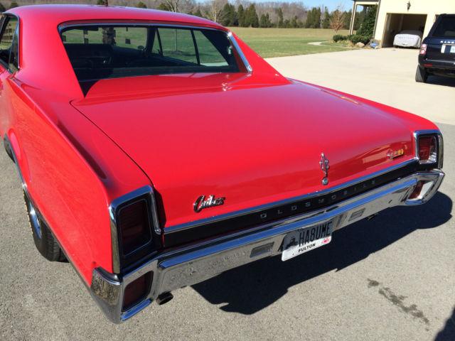 Seller Of Classic Cars 1967 Oldsmobile 442 Red Black