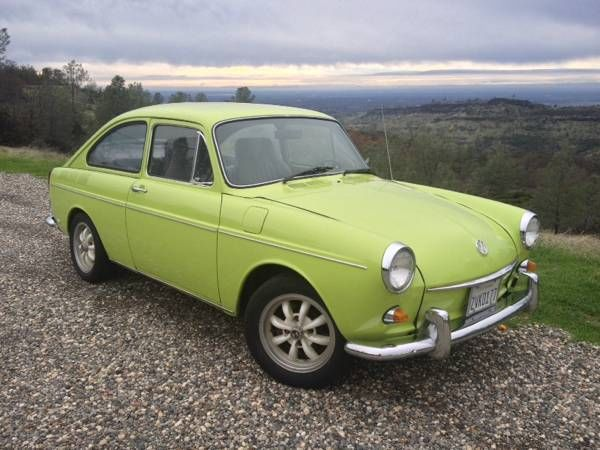 1969 Volkswagen Type III (Hawaiian Green/Grey and Black)