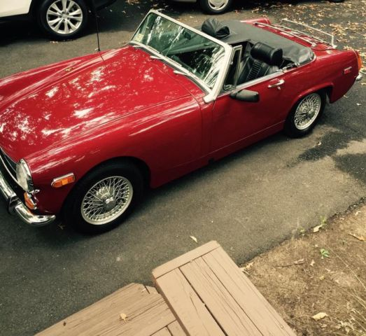 1971 MG Midget (Burgundy/Black)