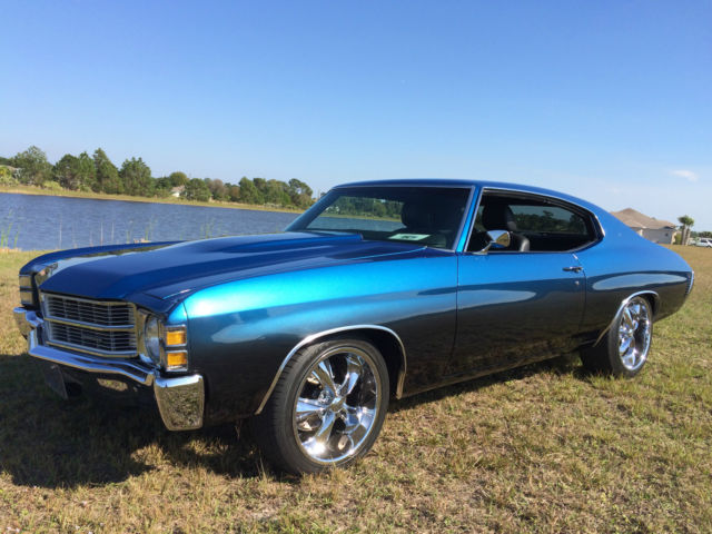Seller Of Classic Cars 1972 Chevrolet Chevelle Blue To
