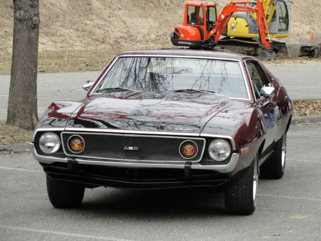 1973 AMC Javelin (Burgundy/Black)