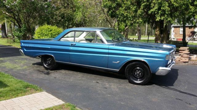 Seller Of Classic Cars 1964 Mercury Comet Blue White