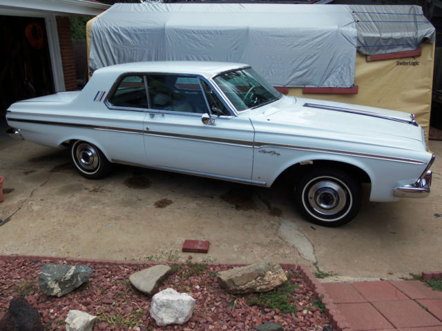 Seller Of Classic Cars 1963 Plymouth Fury White Aqua