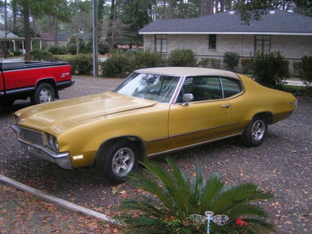 Seller Of Classic Cars 1972 Buick Skylark Gold Tan