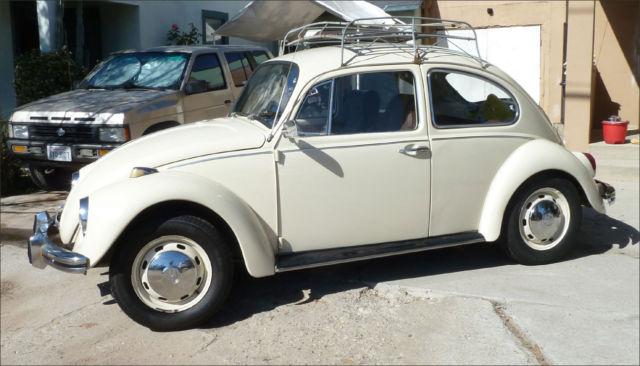 1969 Volkswagen Beetle Clic Cream Coffee