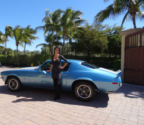 1973 Chevrolet Camaro (Blue/Black