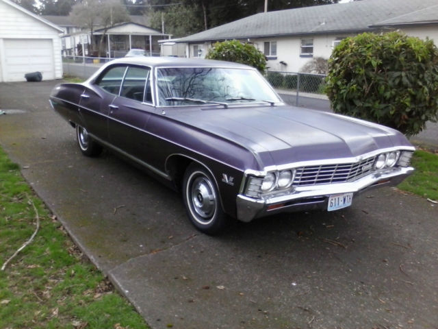 Seller Of Classic Cars 1967 Chevrolet Caprice Plum Plum