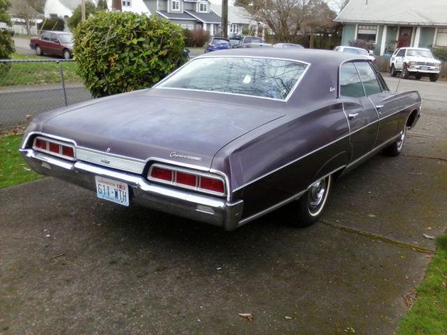 Seller Of Classic Cars 1967 Chevrolet Caprice Plum Plum