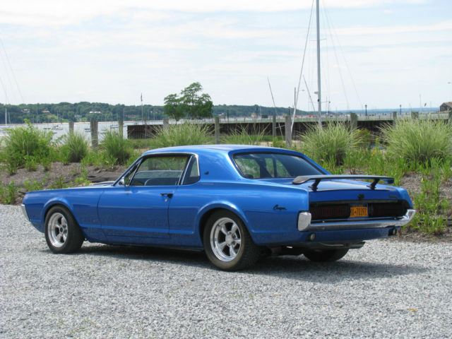 Seller Of Classic Cars 1968 Mercury Cougar Blue Black