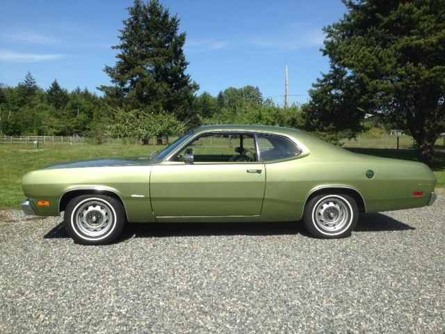 seller of classic cars 1971 plymouth duster gf3 amber sherwood metallic gf7 sherwood green. Black Bedroom Furniture Sets. Home Design Ideas