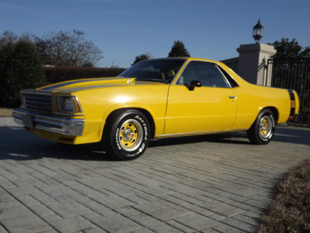 Seller Of Classic Cars 1979 Chevrolet El Camino Yellow