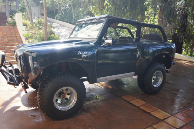 Seller Of Classic Cars 1970 Ford Bronco Metallic Blue Blue