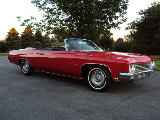 Seller of Classic Cars - 1971 Buick LeSabre (Red/Black ...