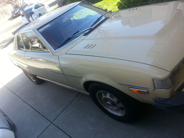 Seller of Classic Cars - 1976 Toyota Celica (Beige Metalic/Brown)