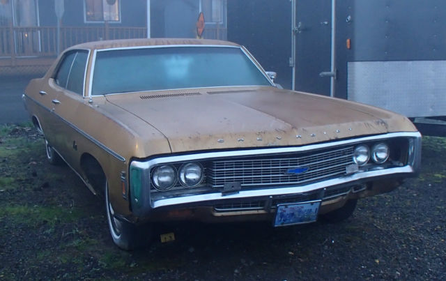 Seller Of Classic Cars 1969 Chevrolet Impala Gold Gold