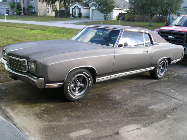 Seller Of Classic Cars 1970 Chevrolet Monte Carlo Grey