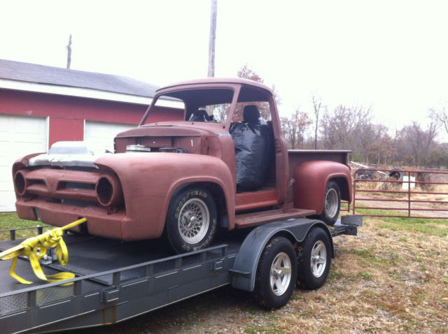 Seller Of Classic Cars 1953 Ford F 100 Brown Black