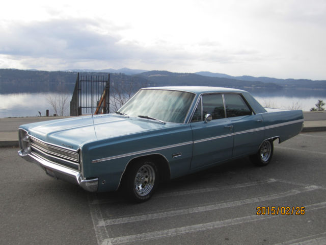 1968 Plymouth Fury (Brown/Green)