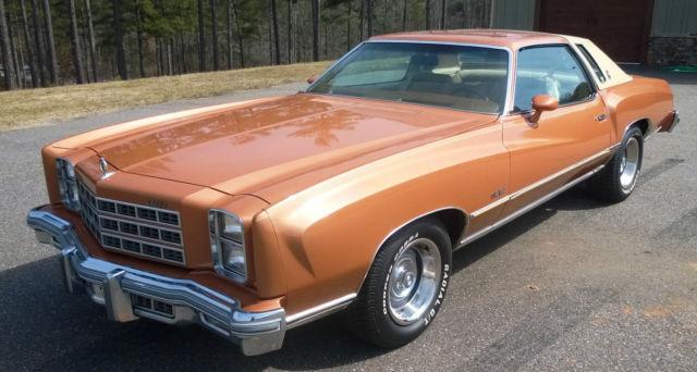 Seller of Classic Cars - 1977 Chevrolet Monte Carlo (PUMPKIN