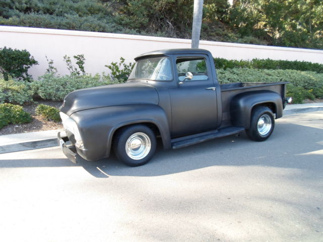 Seller Of Classic Cars 1956 Ford F 100 Black Gray