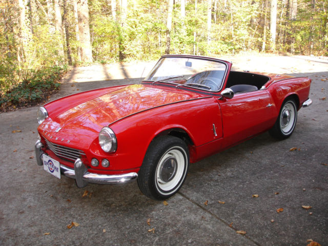1963 Triumph Spitfire (Red/Black)