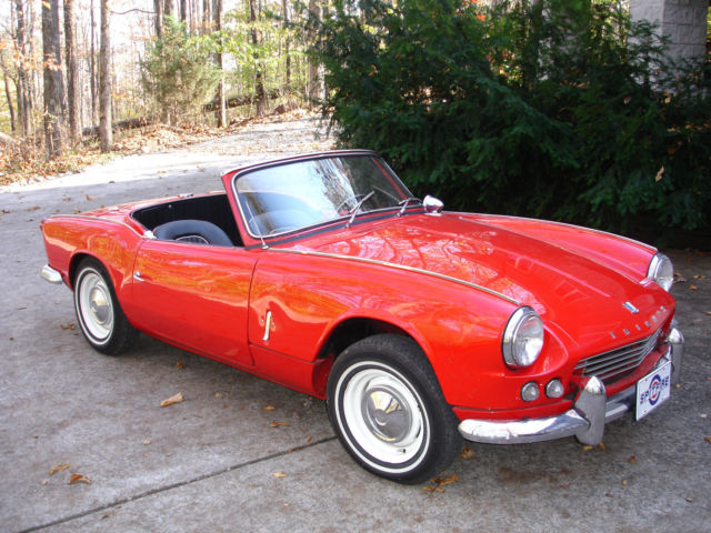 Classic Triumph Other 1963 For Sale: 1963 Triumph Spitfire (Red/Black