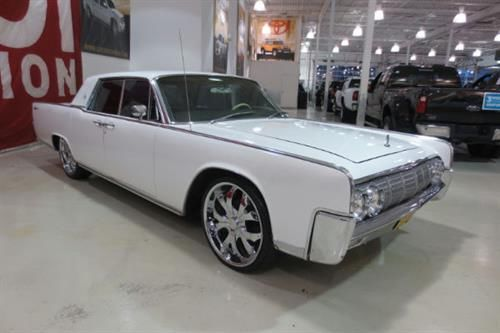 seller of classic cars 1964 lincoln continental white white black. Black Bedroom Furniture Sets. Home Design Ideas