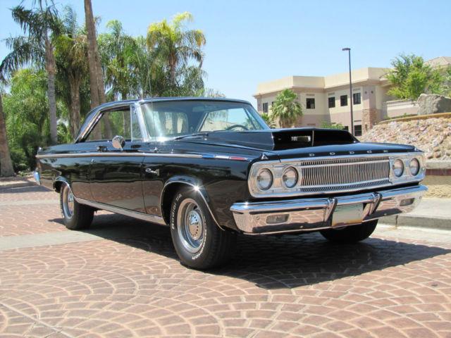 Seller Of Classic Cars 1965 Dodge Coronet Black Black