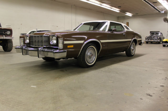 Seller of Classic Cars - 1975 Ford Torino (Brown/Brown)