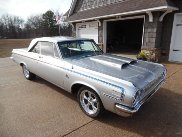 1964 Dodge Polara (Silver/Black)