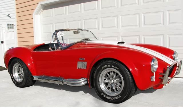 Seller of Classic Cars - 1965 Shelby Cobra (Monza Red/Black)