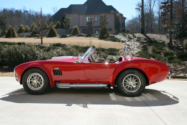 Seller Of Classic Cars 1965 Shelby Cobra Monza Red Black