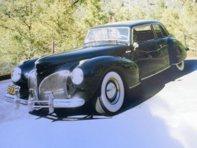 1941 Lincoln Continental (Black/RED & GRAY)