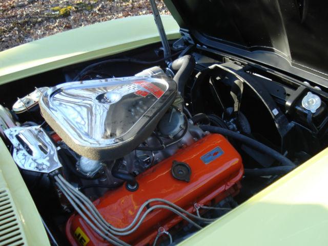 Seller Of Classic Cars 1967 Chevrolet Corvette Yellow
