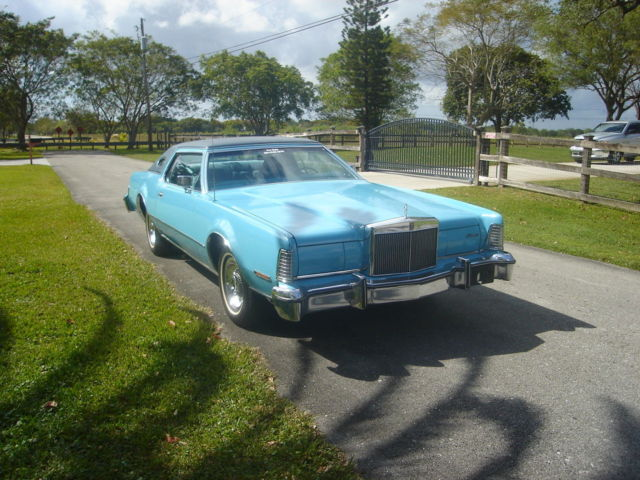 1975 Lincoln Mark Series (Teal/Teal)